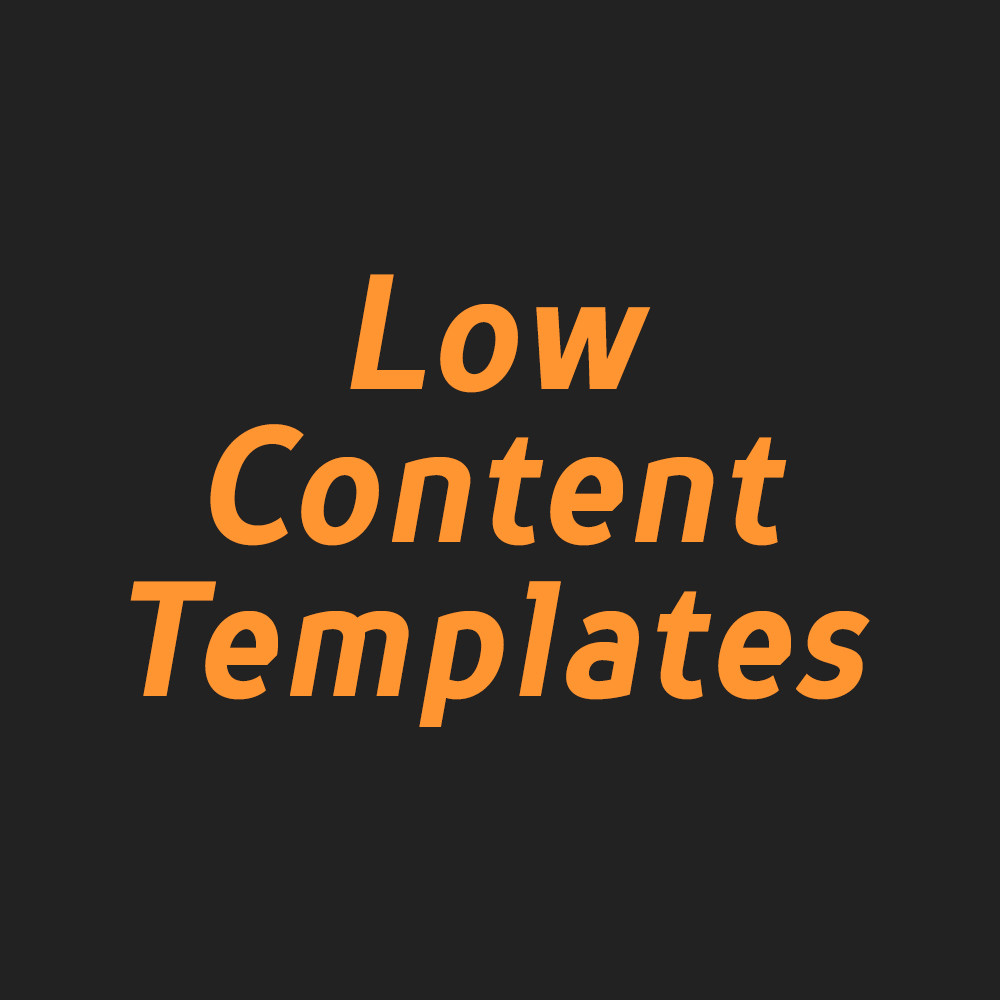 Low Content Templates's profile picture
